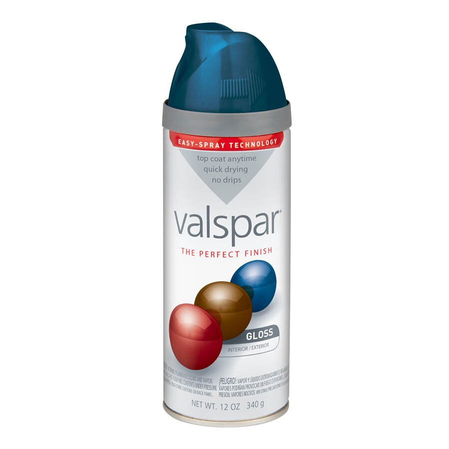 Valspar Deep Sea Diving Enamel Spray Paint (Actual Net Contents: 12 Oz.)