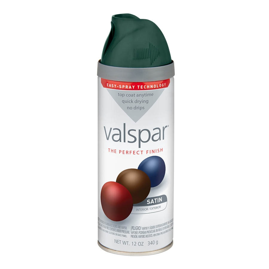 Valspar Hunter Green Enamel Spray Paint (Actual Net Contents: 12-oz)
