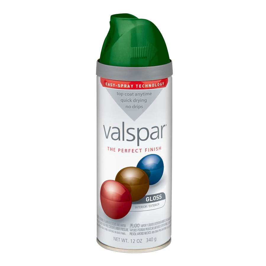 Valspar Palmetto Green Enamel Spray Paint (Actual Net Contents: 12-oz)
