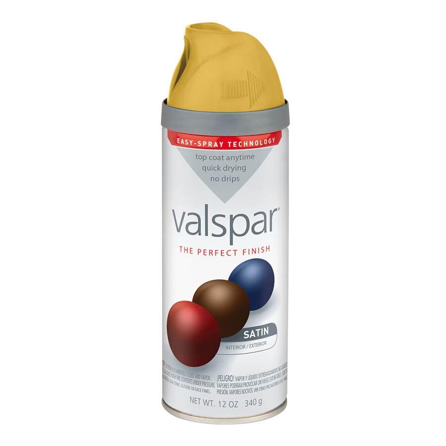Valspar Hubbell House Golden Maize Enamel Spray Paint (Actual Net Contents: 12-oz)