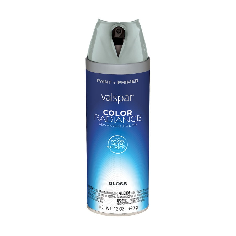 Valspar Azure Snow Indoor/Outdoor Spray Paint