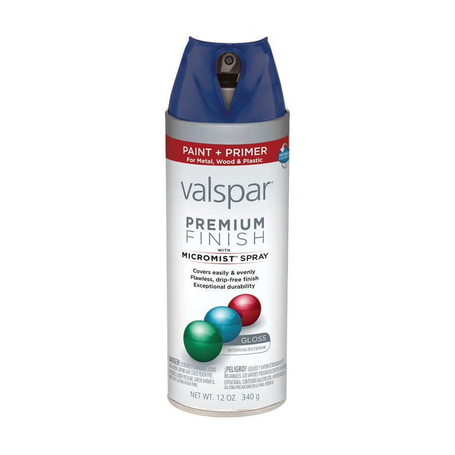 Shop Valspar Royal Blue Indoor Outdoor Spray Paint At