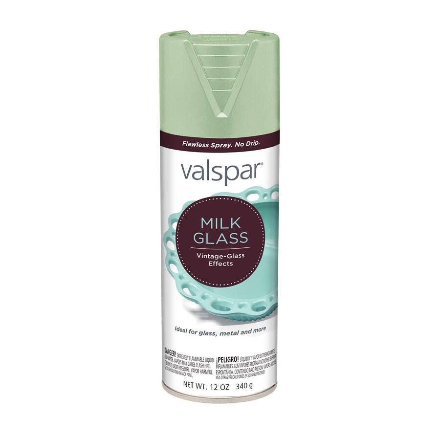 Valspar Jade Milk Glass Fade Resistant Enamel Spray Paint (Actual Net Contents: 12-oz)
