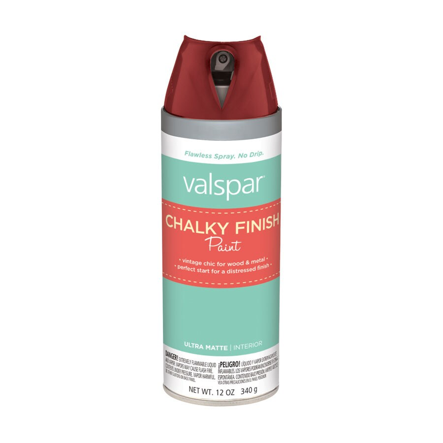Valspar Ruby Earbobs Chalky Paint