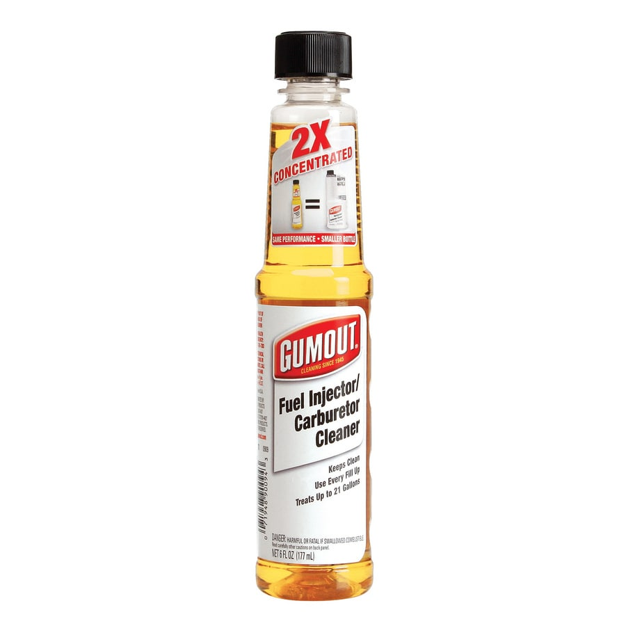 Gumout 6 Oz. 2X Carb/Fuel Injector Cleaner