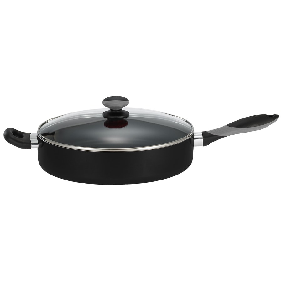 Mirro Get-A-Grip 12.125-in Aluminum Skillet with Lid
