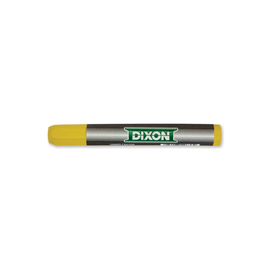 Dixon Lumber Crayon- Yellow