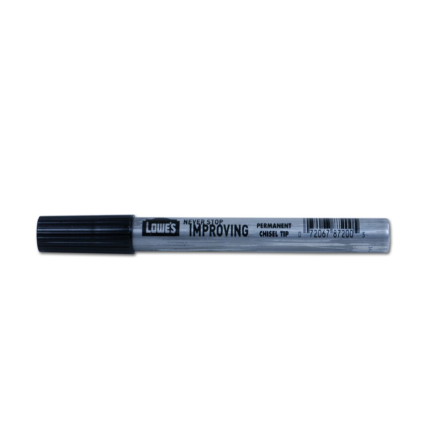 Lowe's King Size Metal Permanent Marker- Black