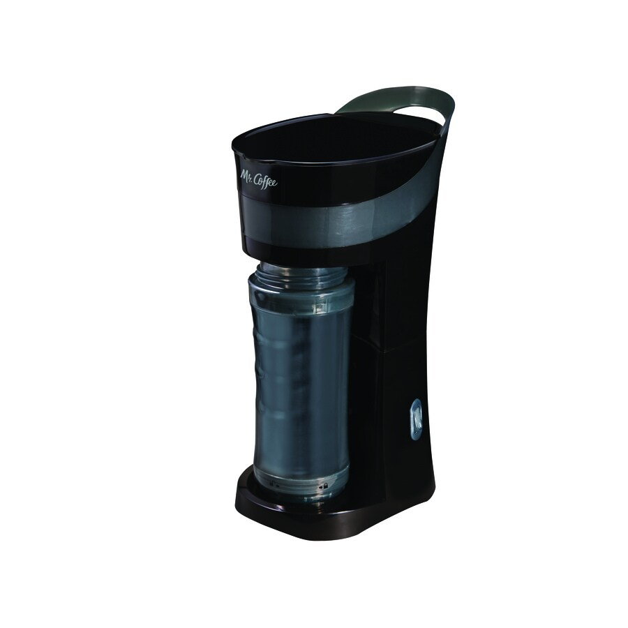 Hanabishi Coffee Maker 1 Cup : Shop Mr. Coffee 1-Cup Black Coffee Maker at Lowes.com