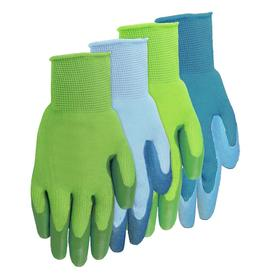 Merveilleux MidWest Quality Gloves, Inc. Womenu0027s Large Assorted Colors Latex Garden  Gloves