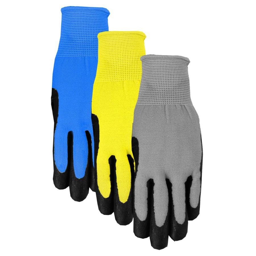 Blue Hawk Large Men's Nylon Nitrile Dipped Work Gloves