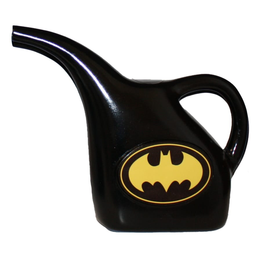 MidWest Quality Gloves, Inc. Batman 0.375-Gallon Black Plastic Children's Watering Can