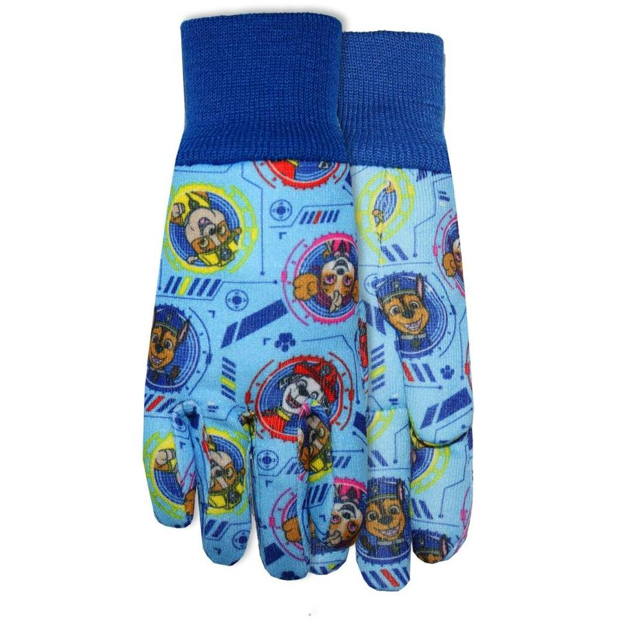 MidWest Quality Gloves, Inc. Child Multicolored Cotton Garden Gloves