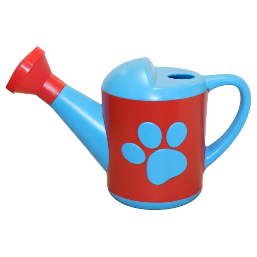 MidWest Quality Gloves, Inc. Paw Patrol 0.375-Gallon Blue and Red Plastic Nickelodeon Watering Can