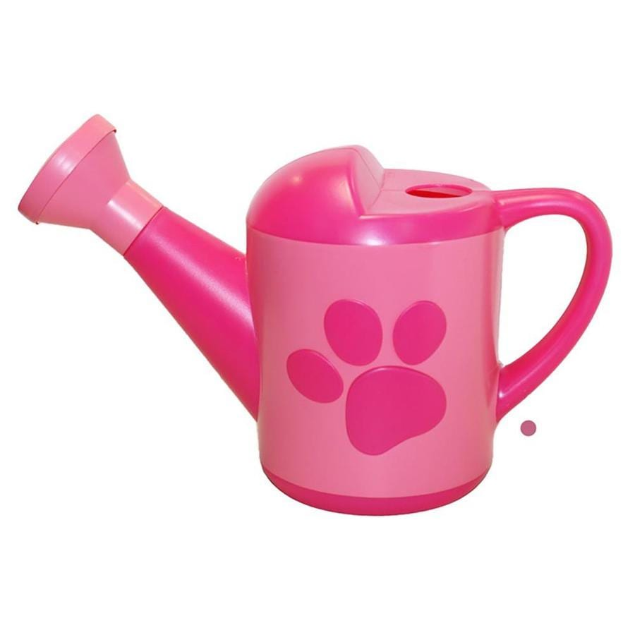 MidWest Quality Gloves, Inc. Paw Patrol 0.375-Gallon Pink Plastic Nickelodeon Watering Can