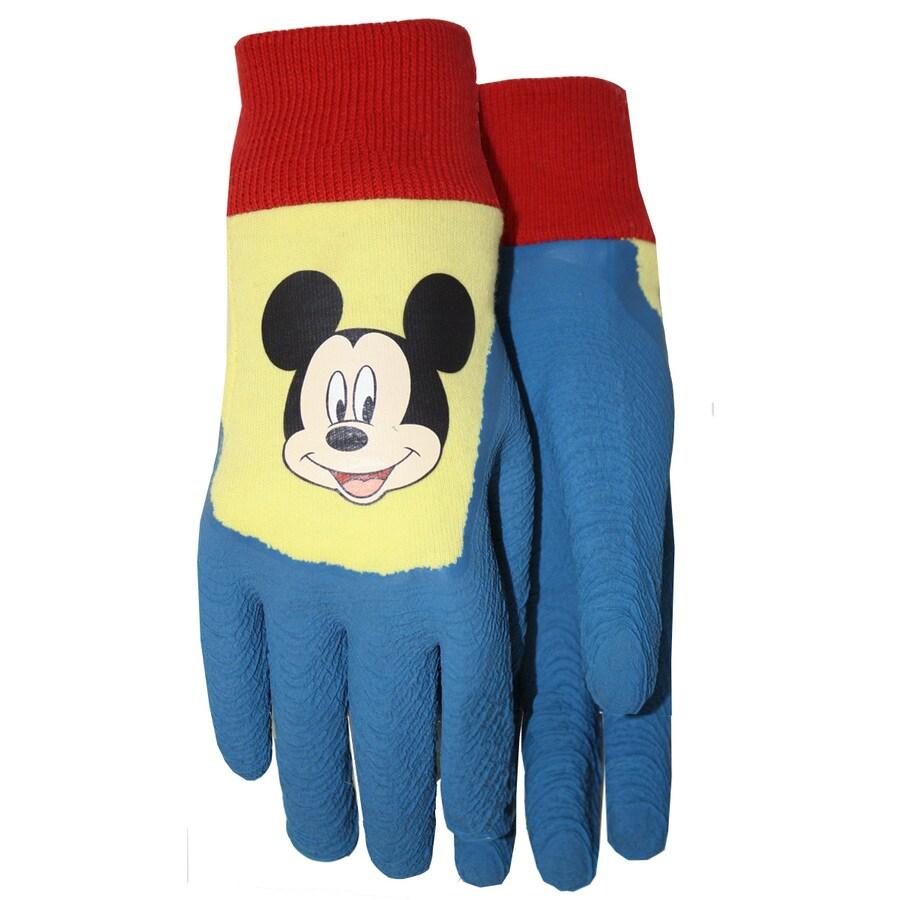 Charming MidWest Quality Gloves, Inc. Childrenu0027s Blue Cotton Garden Gloves