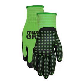 MidWest Quality Gloves, Inc. Womenu0027s Medium Green Nylon Garden Gloves