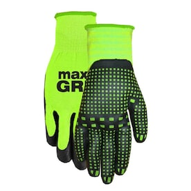 MidWest Quality Gloves, Inc. Unisex Max grip Nitrile Multipurpose Gloves, Large/X-Large (1-Pair)