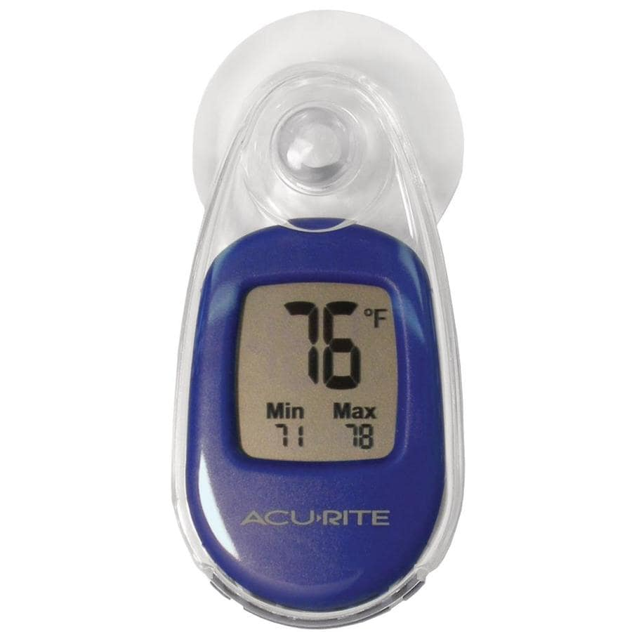 AcuRite Digital Wireless Indoor/Outdoor Blue Thermometer