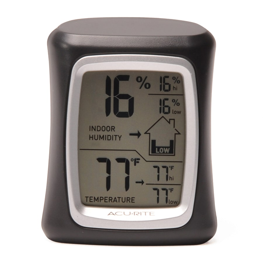 AcuRite Digital Indoor Black Thermometer