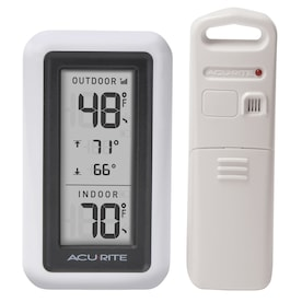 AcuRite Digital Outdoor White Thermometer