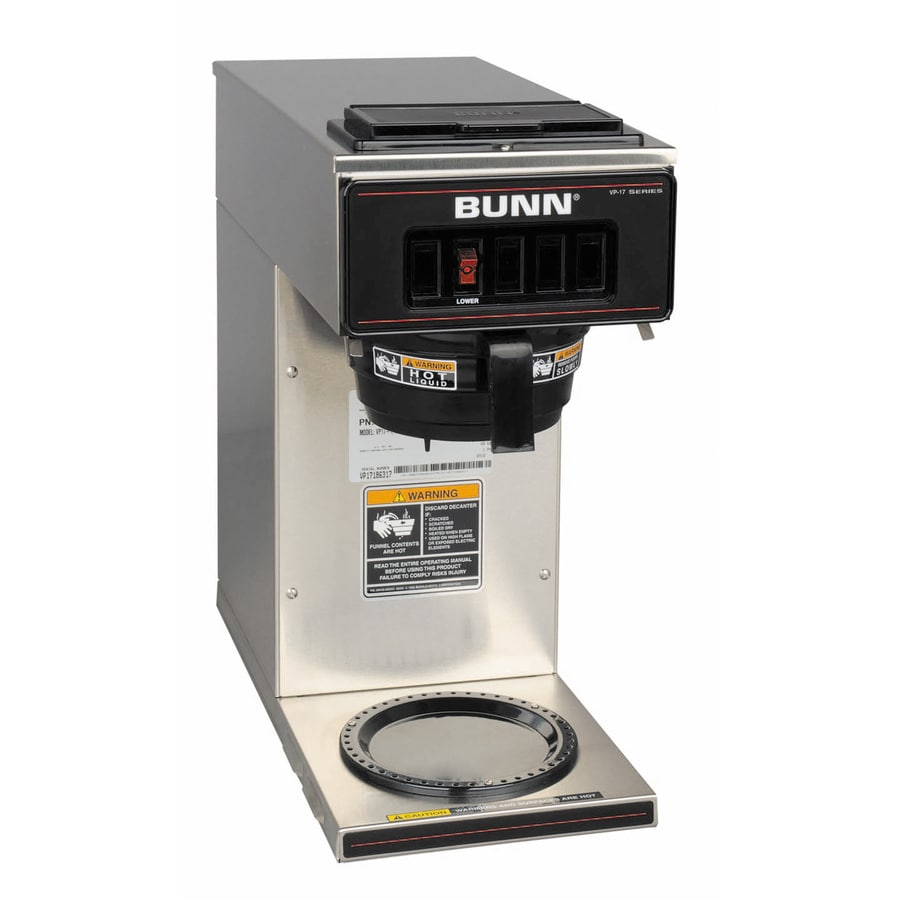 BUNN Stainless Steel 12-Cup Coffee Maker