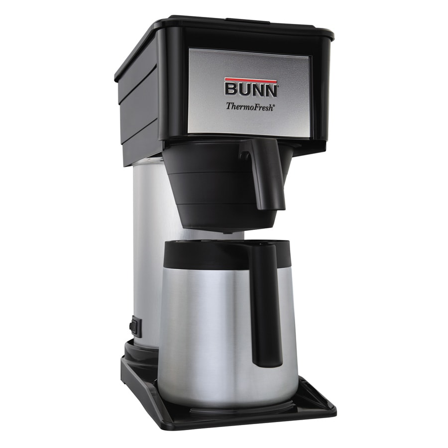 Shop Bunn Velocity Brew 10 Cup Black Coffee Maker At Lowes Com