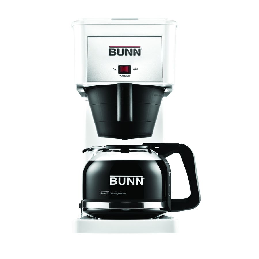 BUNN White GR 10-Cup Coffee Maker