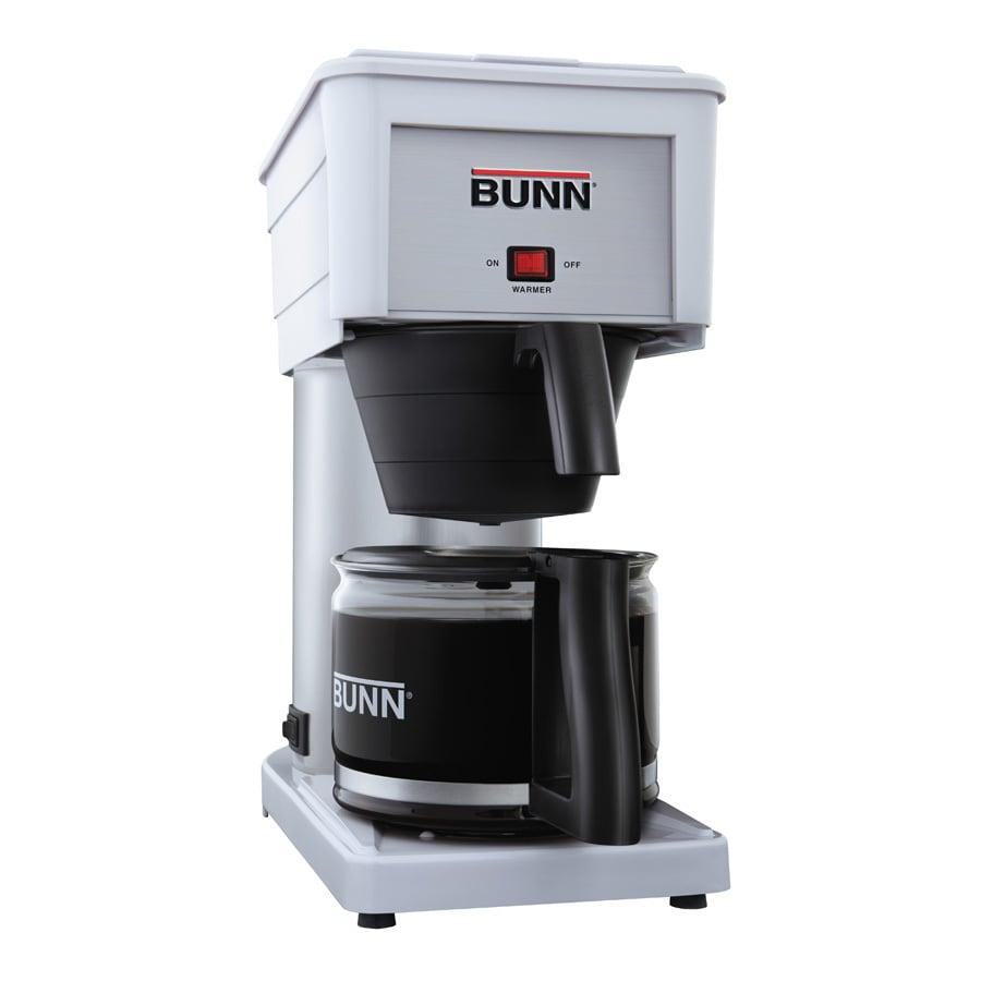 BUNN White 10-Cup Coffee Maker