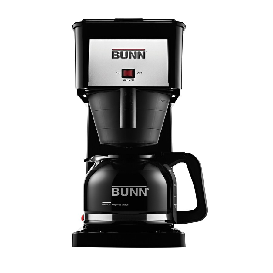 bunn coffee maker shop bunn velocity brew 10 cup black coffee maker at lowes 31200