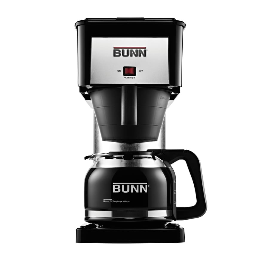 Shop BUNN Velocity Brew 10-Cup Black Coffee Maker at Lowes.com