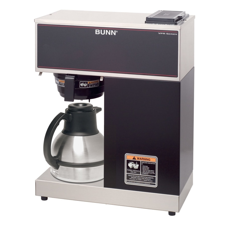 BUNN VPR Tc 12-Cup Stainless Steel Commercial Coffee Maker