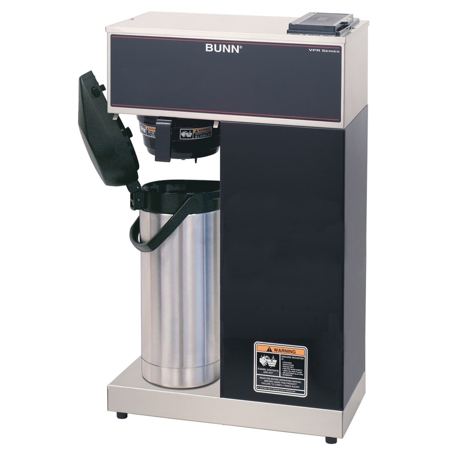 BUNN Vpr Aps 8-Cup Stainless Steel Commercial Coffee Maker