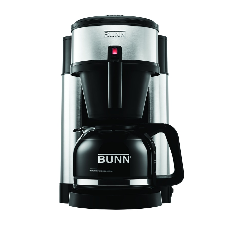 Shop BUNN 10-Cup Stainless Steel Coffee Maker at Lowes.com