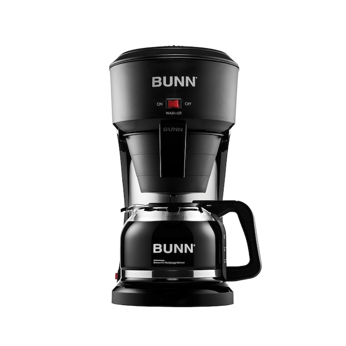 BUNN Speed Brew 10-Cup Black Residential Drip Coffee Maker