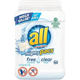 all 67-ct Mighty Pacs Free and Clear