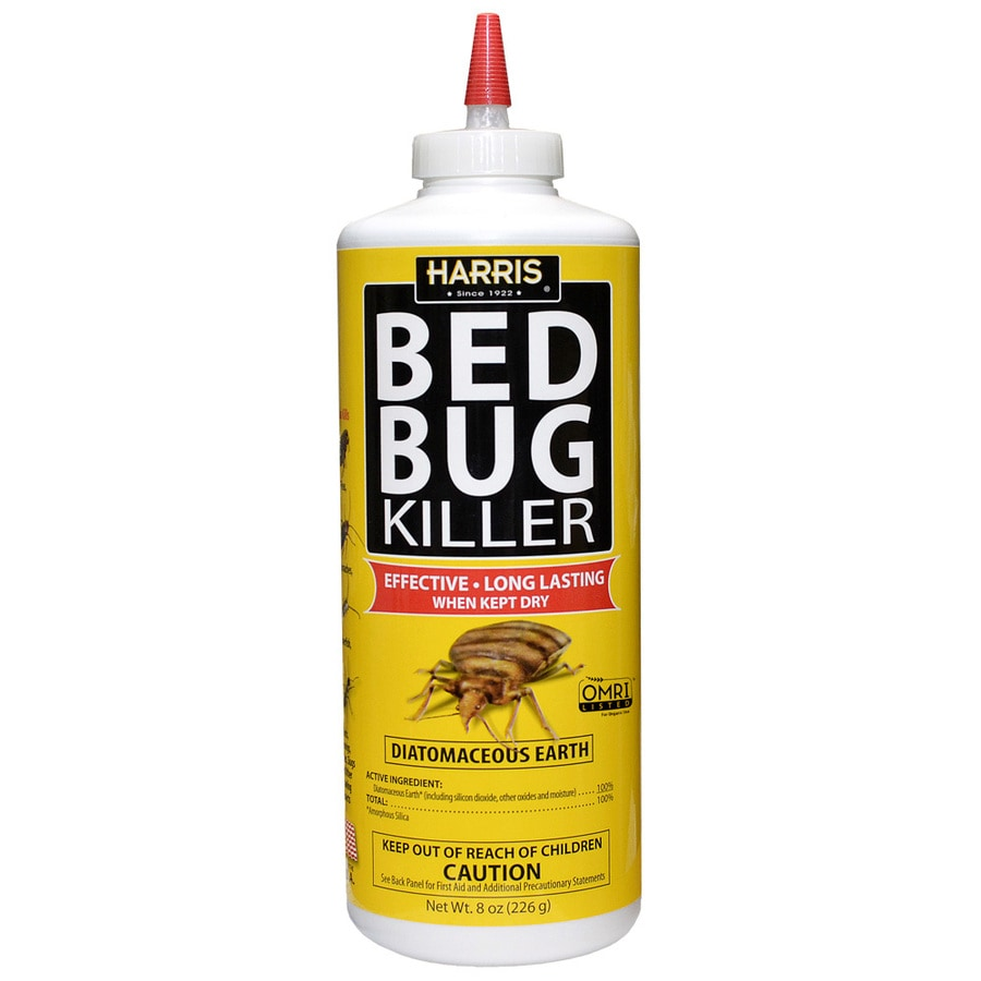 Shop Harris Diatomaceous Earth 8-oz Organic Bed Bug Killer at Lowes.com
