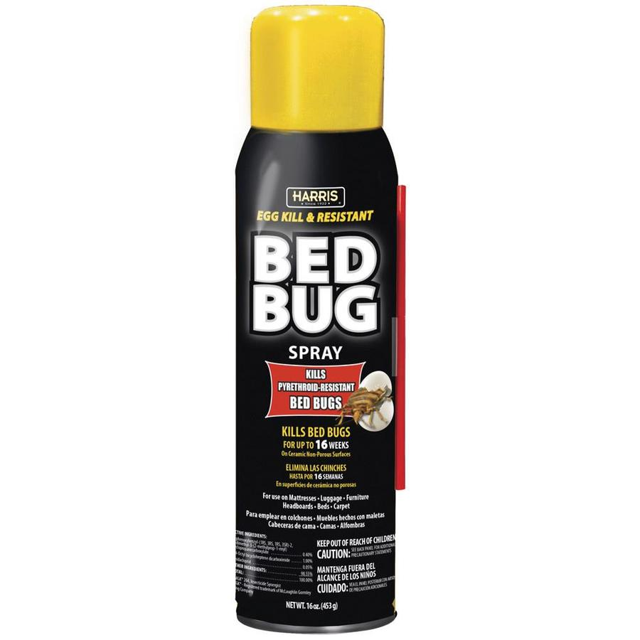 shop harris 16-oz bed bug killer at lowes