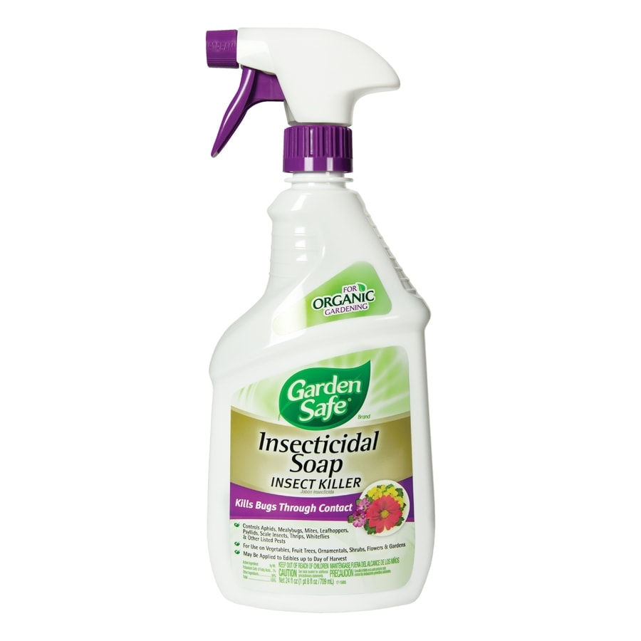 Garden Safe Insecticidal Soap Insect Killer Ready-To-Use Liquid