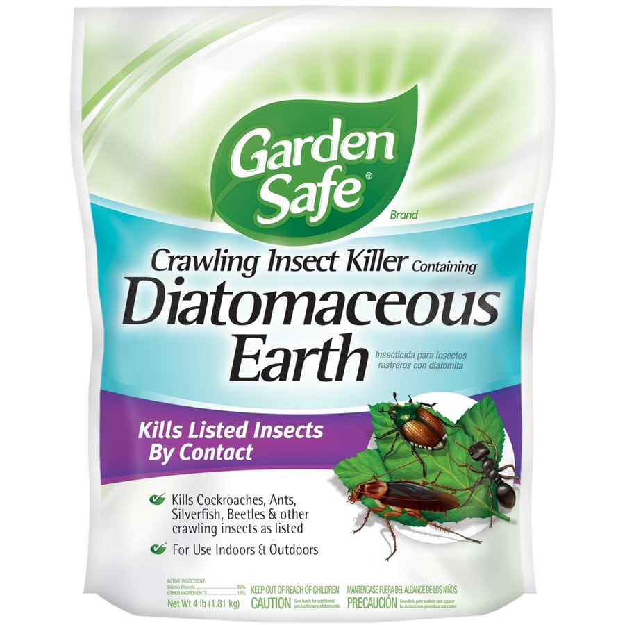 Garden Safe 4 Lb Crawling Insect Containing Diatomaceous Earth