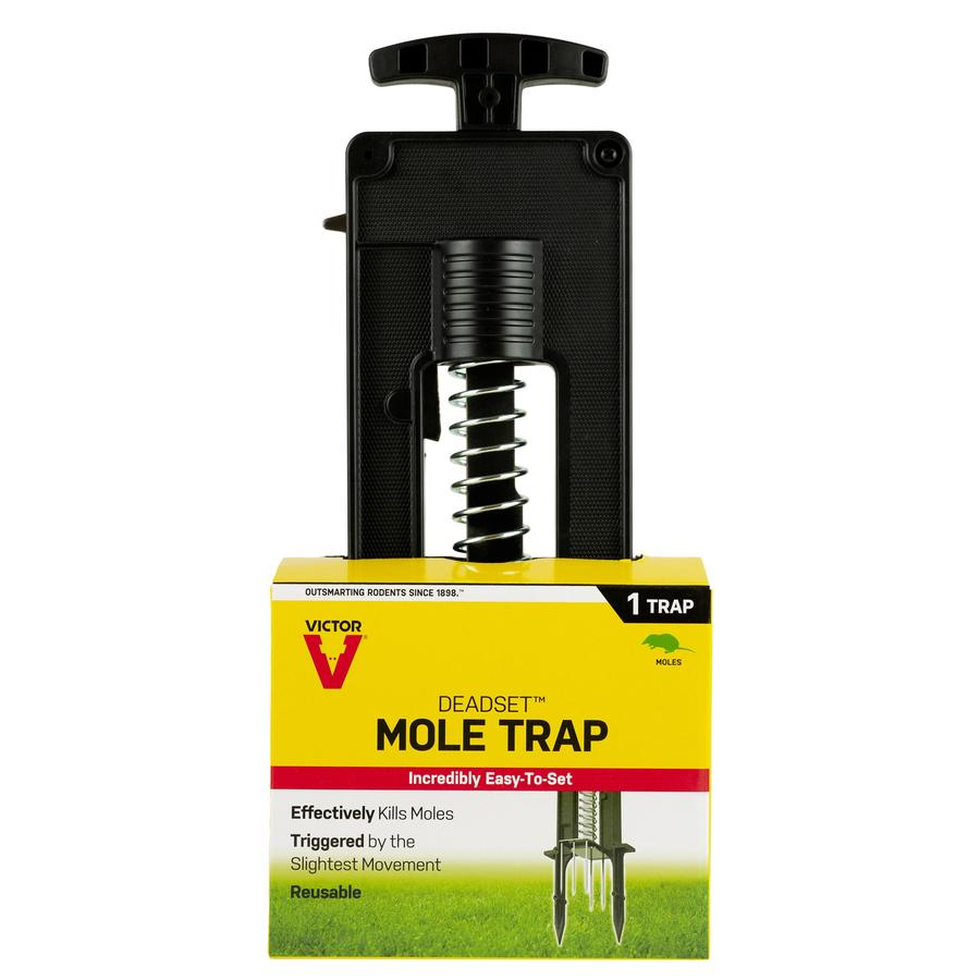 Victor 1 Count Disposable Mole Trap At Lowesforpros.com
