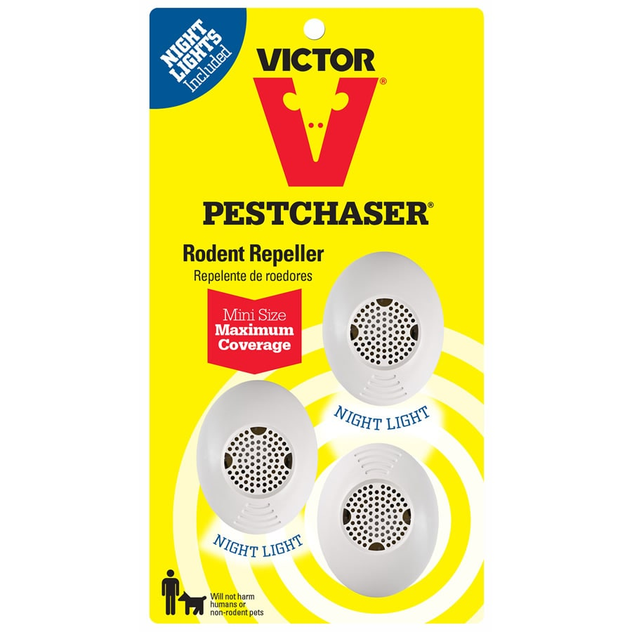 Victor PestChaser 3-Count Rodent Repeller