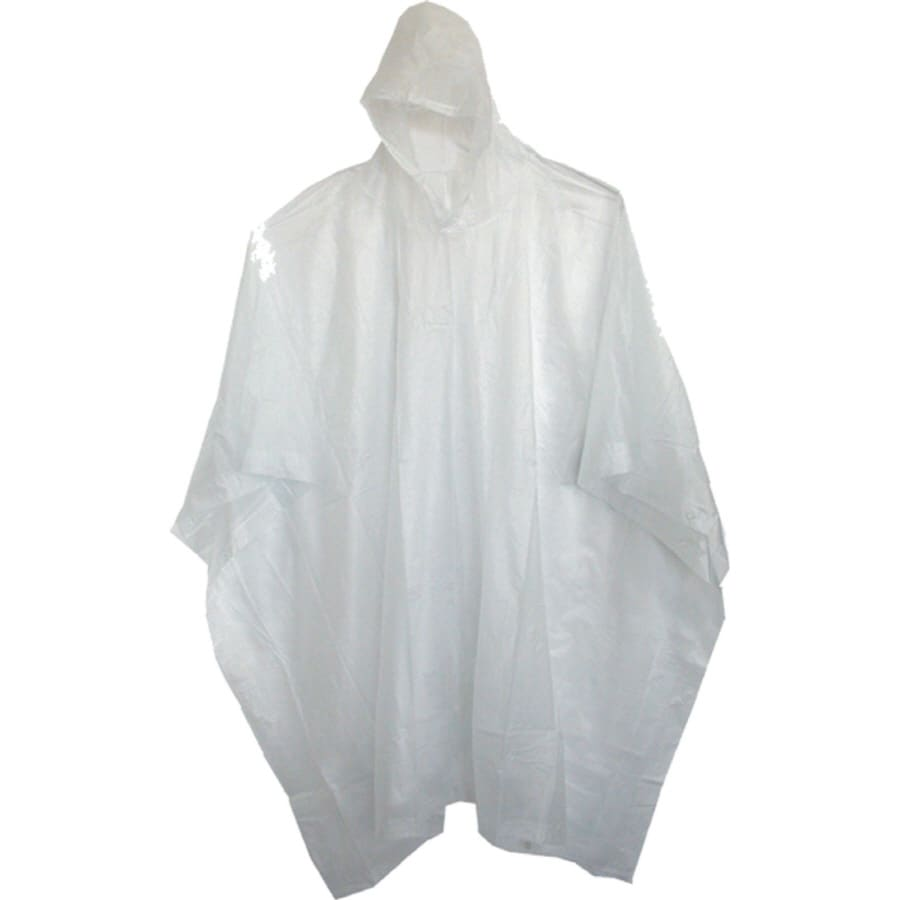 Boss One-Size-Fits-All Clear Adult Poncho