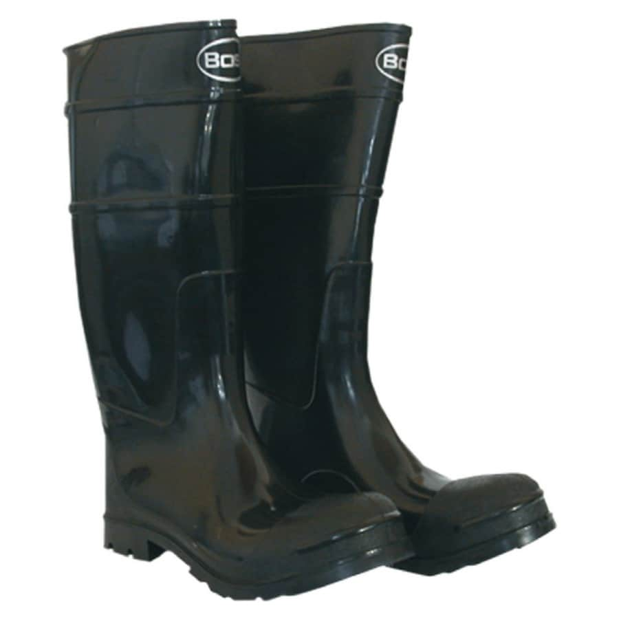 Boss Black Rubber Boots (10)
