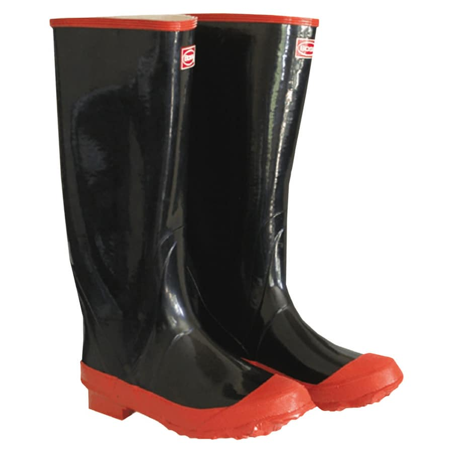 Boss Lined Black Rubber Boots (10)