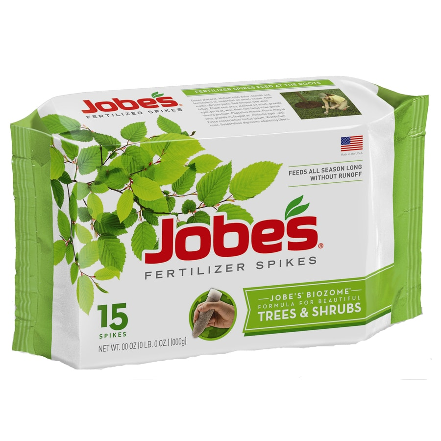 Jobe's 15-Count Tree and Shrub Food (16-4-4)