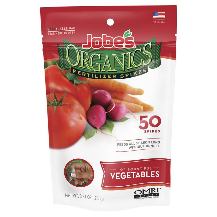 Jobe's 50-Count Organic/Natural Flower and Vegetable Food (2-7-4)