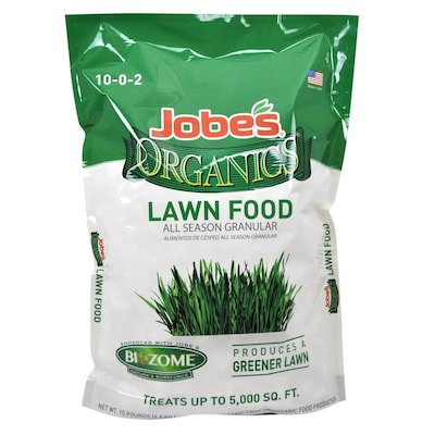 Jobe's Organics 15-lb 5,000-sq ft 10-0-2 Lawn Food at Lowes com