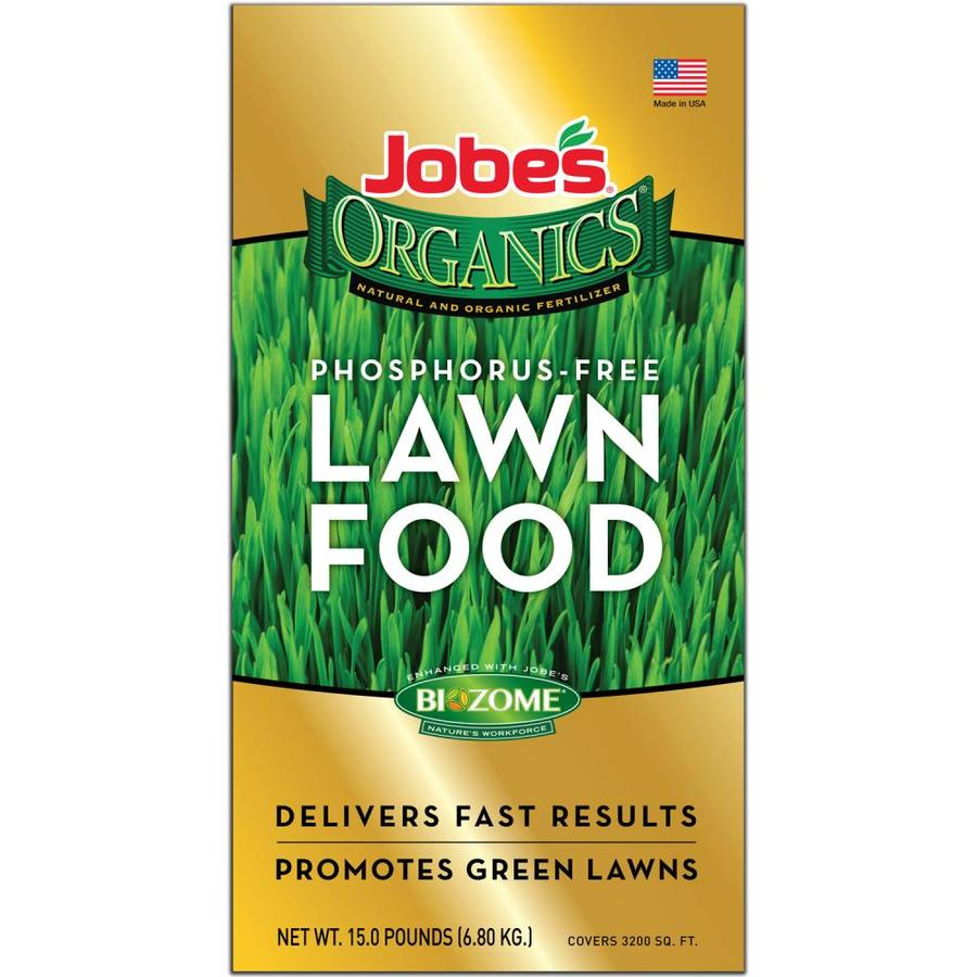 Jobe's Organics 5,000-sq ft Organic or Natural Lawn Fertilizer (7-0-3)