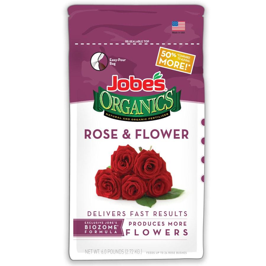 Jobe's Organics 6-lb Organic/Natural Flower Food (3-5-3)